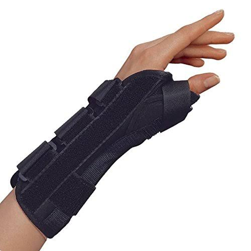 OTC Lightweight Breathable Wrist Thumb Splint - Left, X-Large