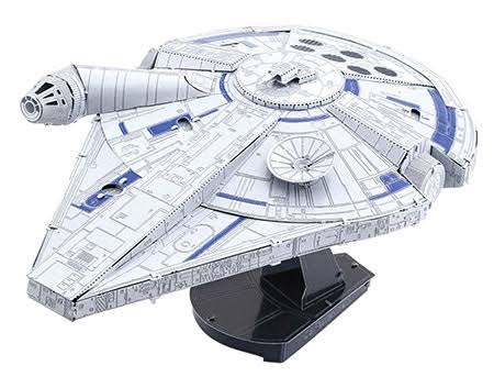 Fascinations ICONX Star Wars Solo Lando's Millennium Falcon 3D Metal Model Kit