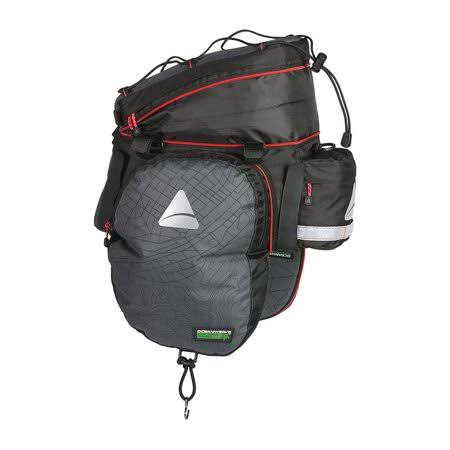 Axiom Seymour Oceanweave Exp19 Expandable Trunk Bag - Gray Black
