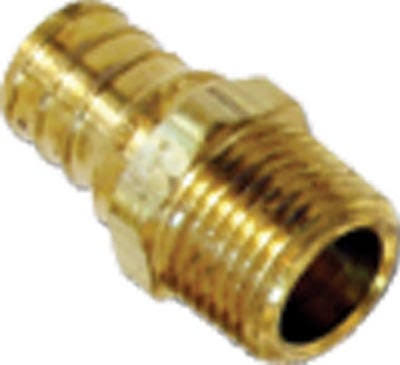 "SharkBite UC138LFA Threaded Male Adapter - 3/4""x1/2"""