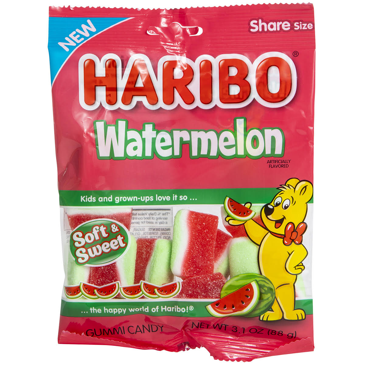 Haribo Watermelon 3.1oz