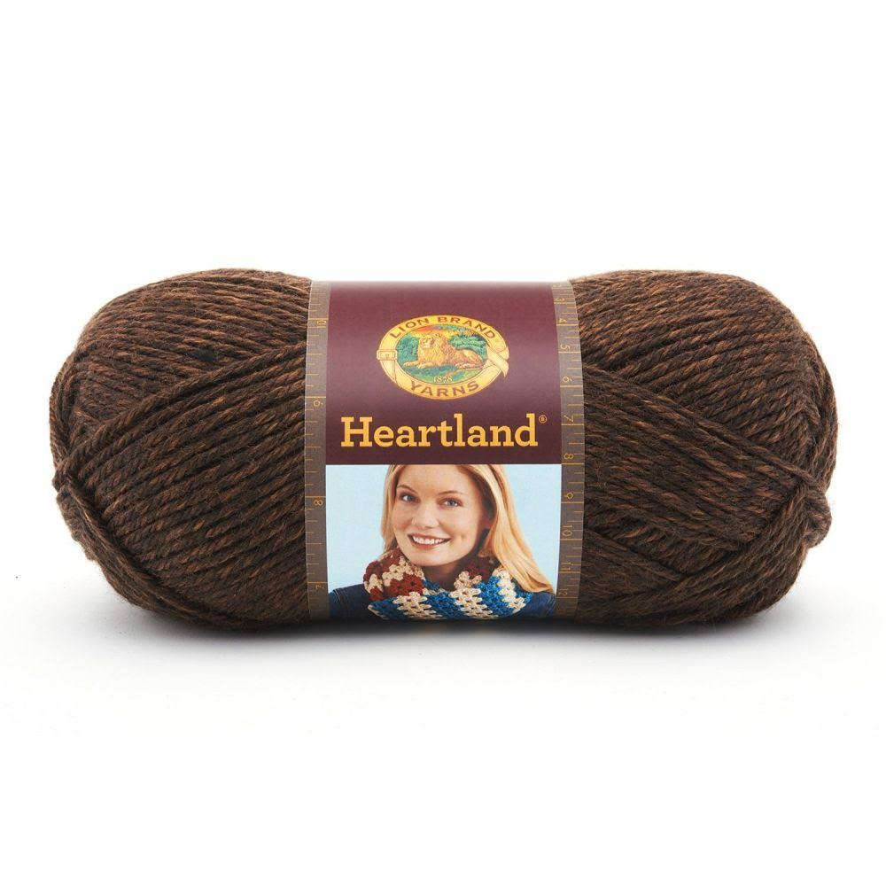 Lion Brand Heartland Yarn - Sequoia
