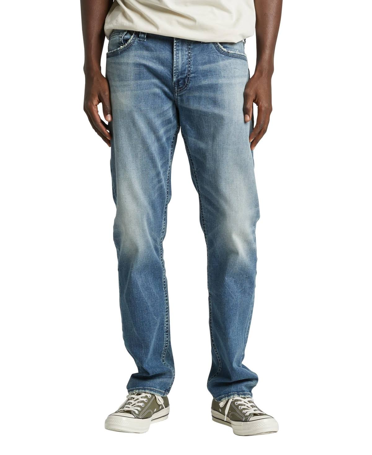 Silver Jeans Co. Eddie Athletic Jean - Indigo