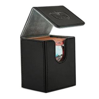 Ultimate Guard Flip Deck Case - Xenoskin Black