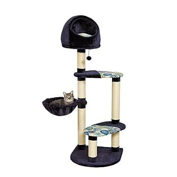 MidWest Resort Activity Trees Cat Furniture - 4 Tier, with Sisal