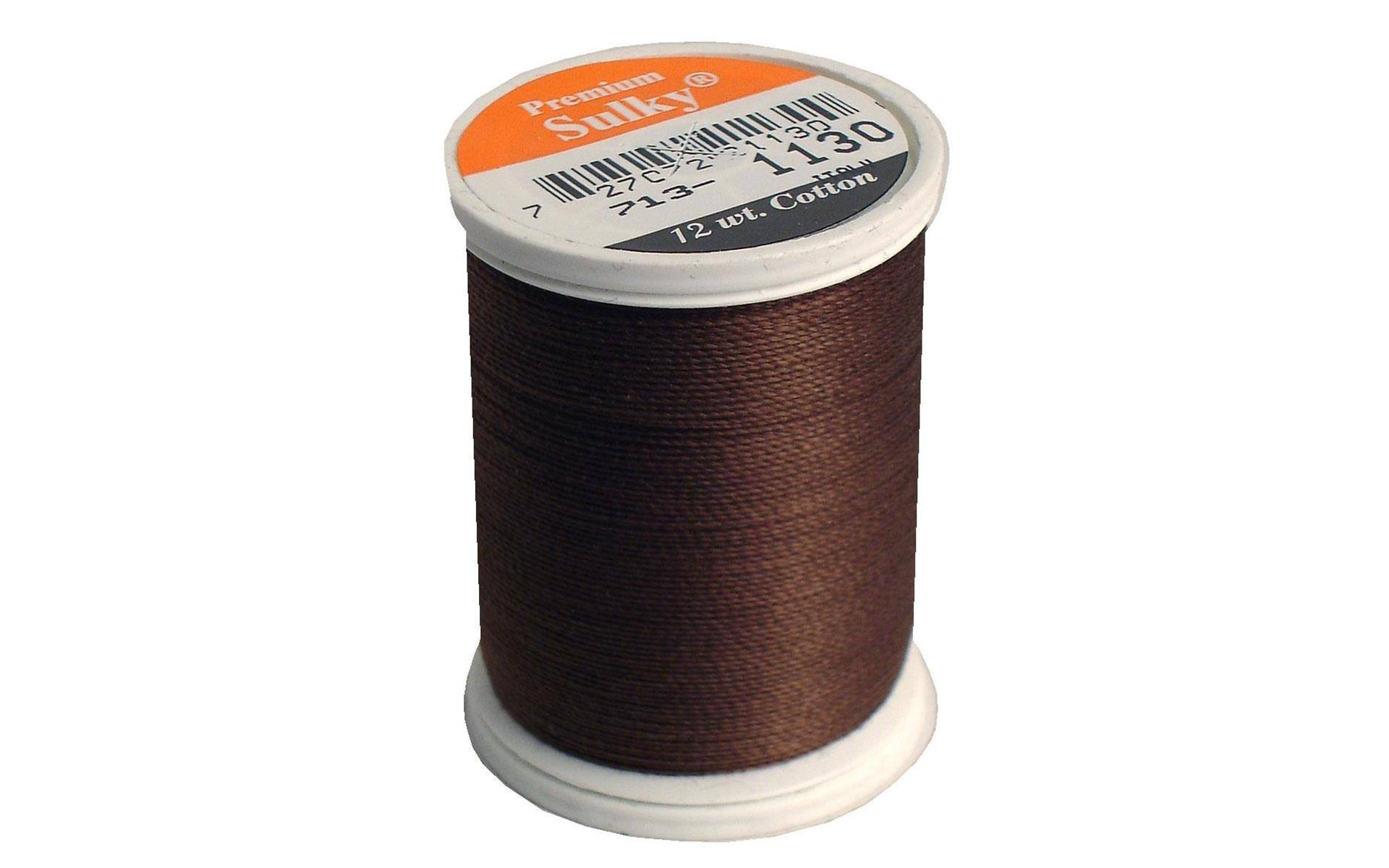 Sulky Cotton Thread - 330 Yards, Dark Brown