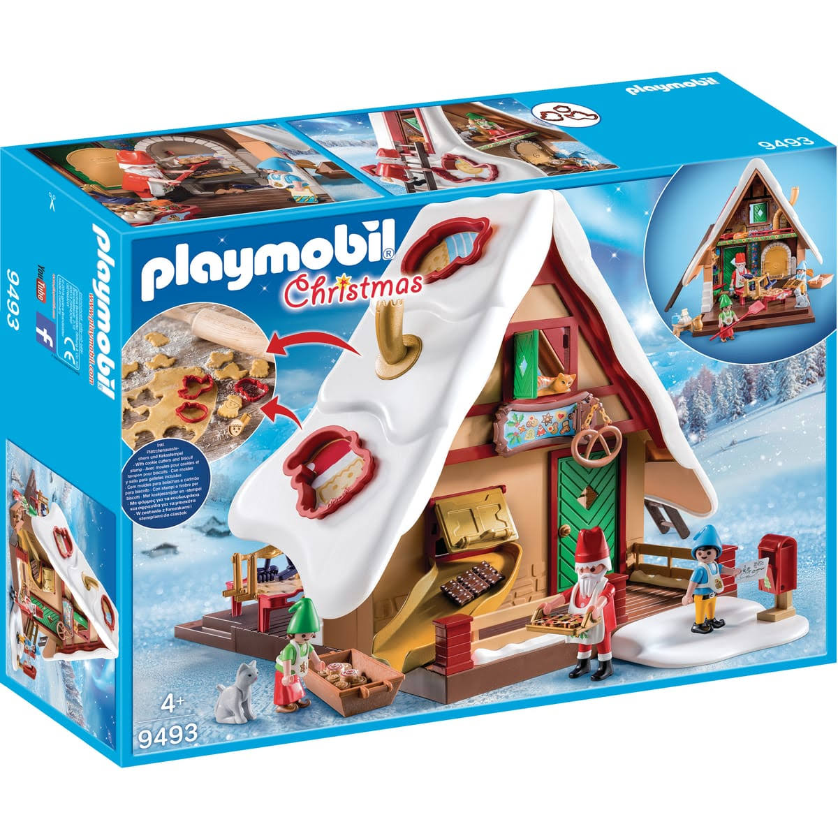 Playmobil Christmas Bakery with Cookie Cutters Play Set