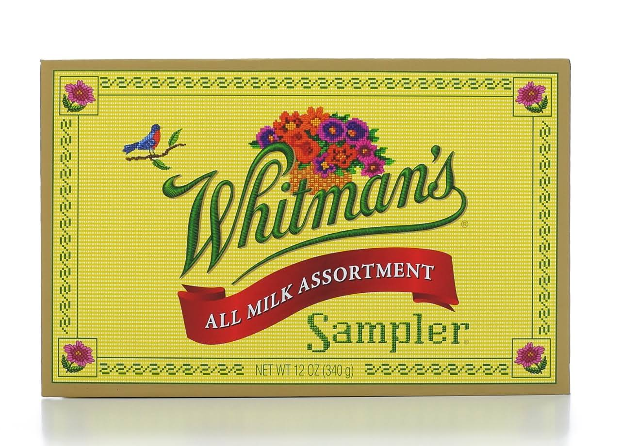 Whitman's Sampler Milk Chocolate - 12oz
