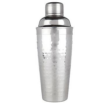 Viski Hammered Metal Cocktail Shaker - 24oz