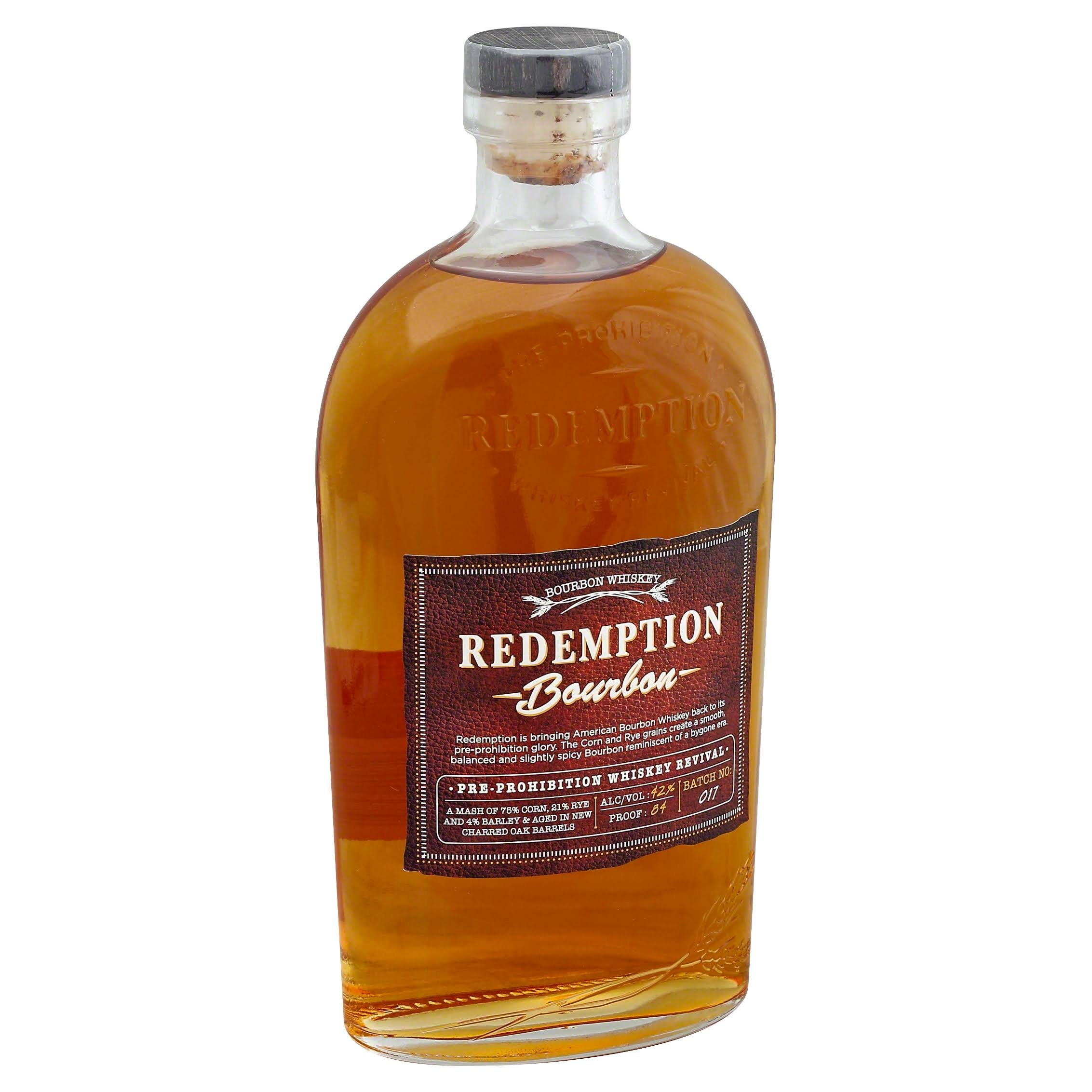 Redemption Whiskey, Bourbon - 750 ml
