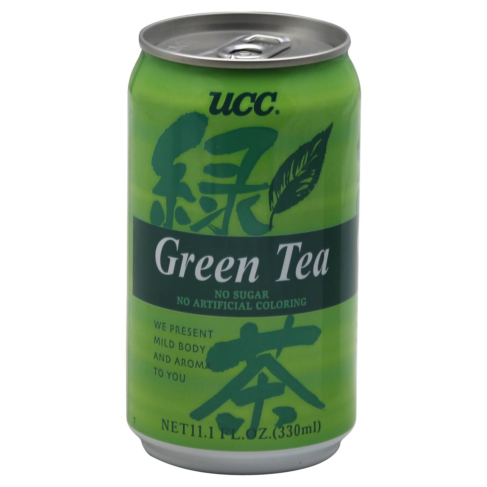 UCC Green Tea - 11.1oz, 24pk