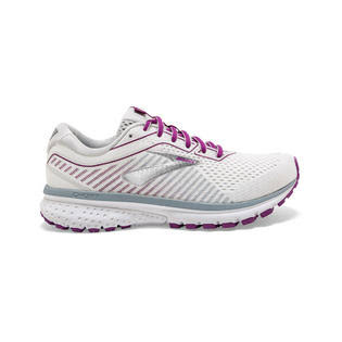 Brooks Women's Ghost 12 Running Shoe, White