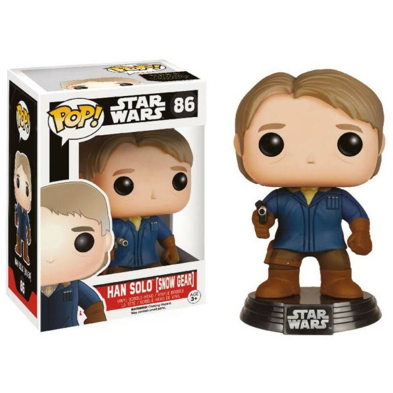 Funko Pop Star Wars: The Force Awakens Vinyl Figure - Han Solo in Snow Gear