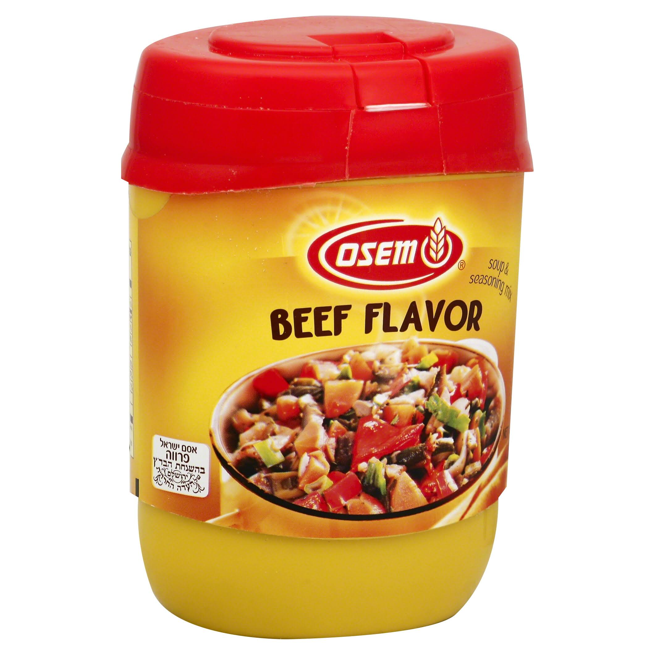Osem Beef Flavor Soup and Seasoning Mix - 400g