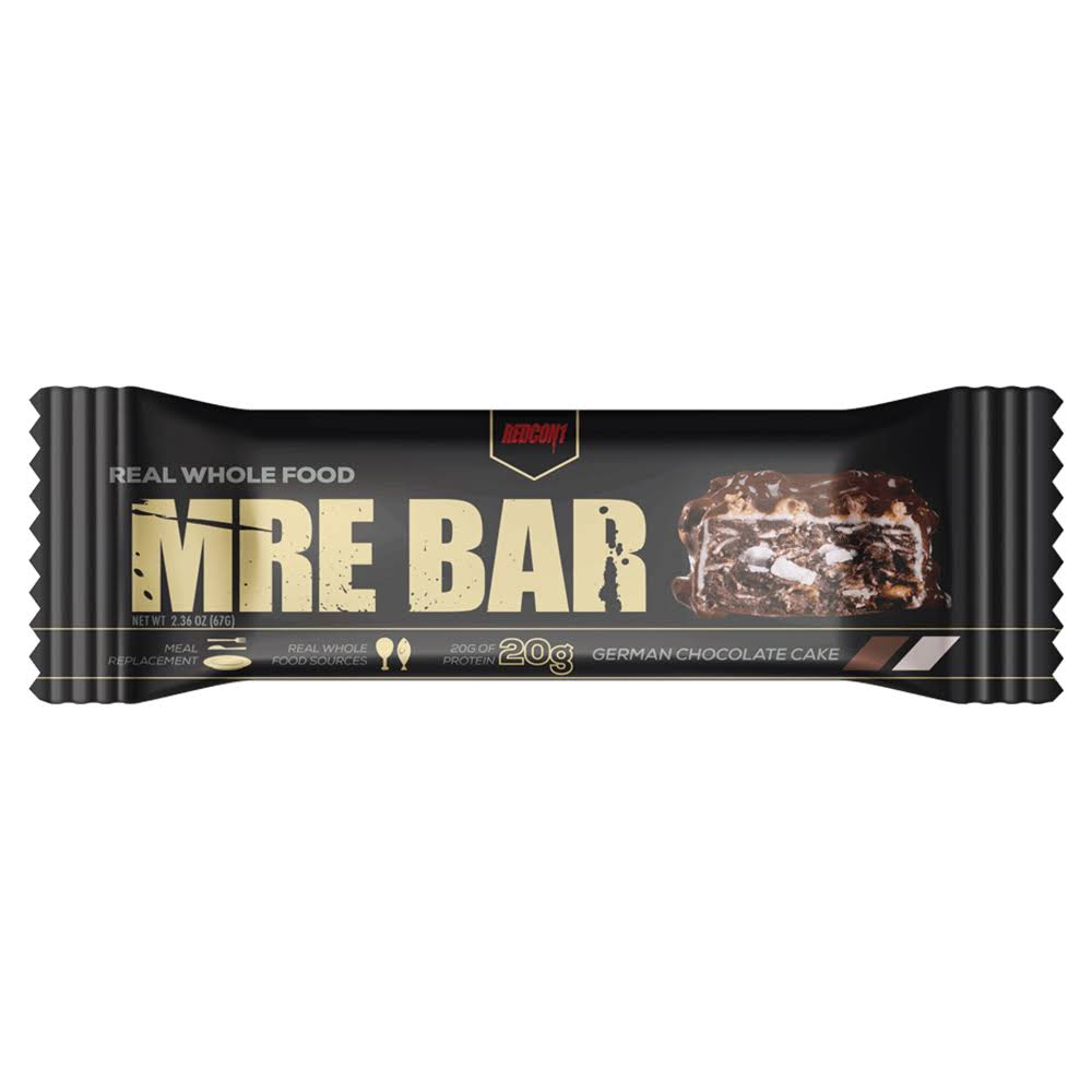 Mre Bar Meal Replacement Bar, German Chocolate Cake - 2.36 oz