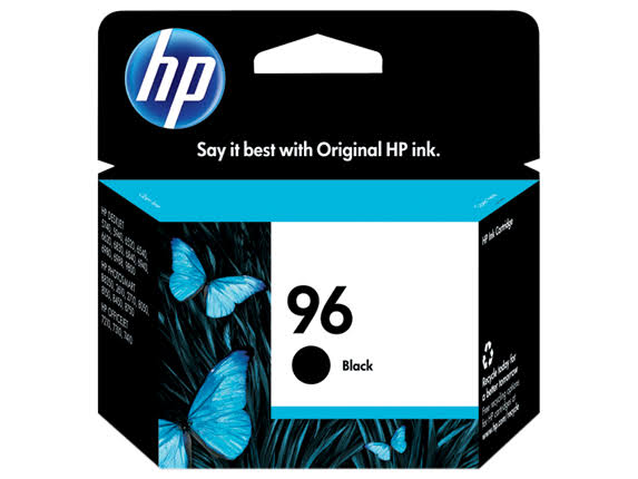 HP Original Ink Cartridge - 96 Black