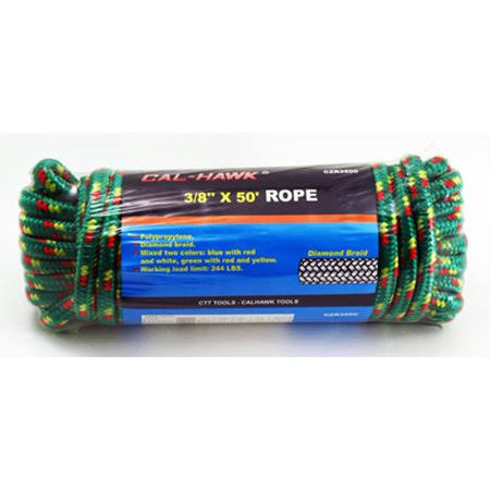Cal Hawk Tools 3/8 inch x 50' Rope
