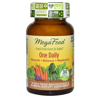 Megafood One Daily Supplement - 30 Tablets