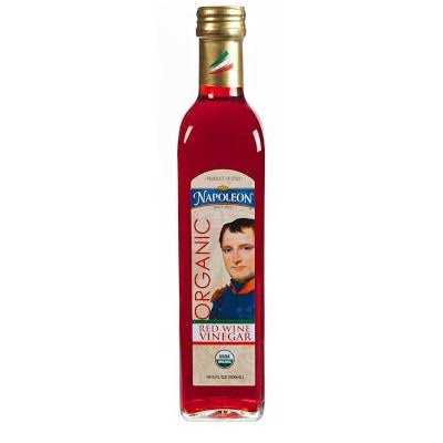 Napoleon Organic Vinegar - Red Wine, 16.9oz