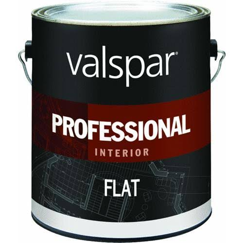 Valspar Professional Latex Flat Interior Wall Paint - White