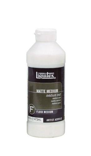 Liquitex Professional Matte Fluid Medium - 473ml