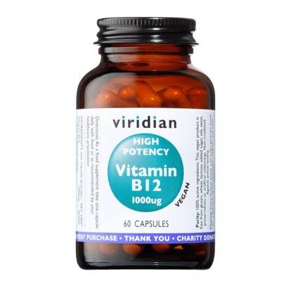 Viridian High Potency Vitamin B12 1000ug