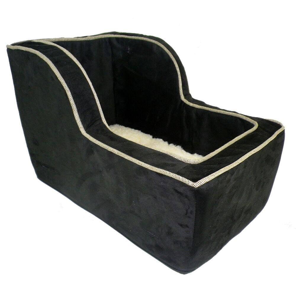 Snoozer Luxury High Back Console Pet Car Seat Large Black/