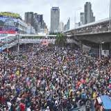 Tens Of Thousands Of Thais Continue To Protest