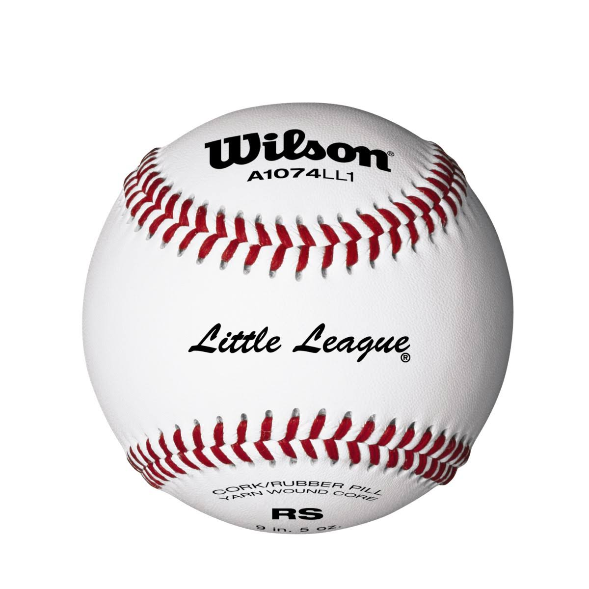 "Wilson Little League Baseball - 9"", 12pk"