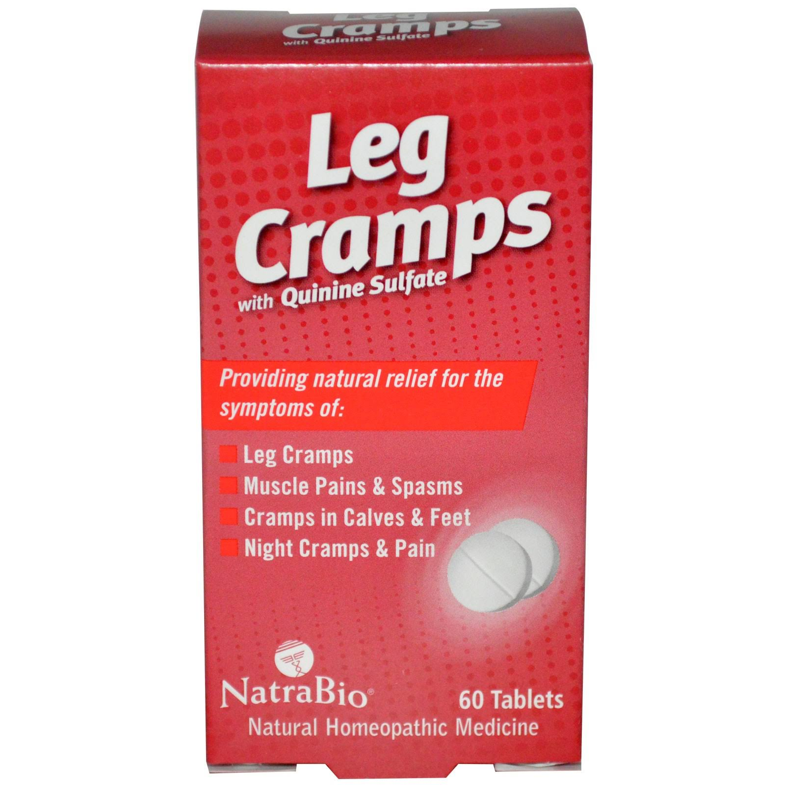 NatraBio Leg Cramps - 60 tablets