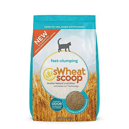 sWheat Scoop Fast-Clumping Cat Litter, 12 lb