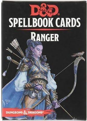 Dungeons and Dragons: Ranger Spellbook Deck Card Game - 46ct