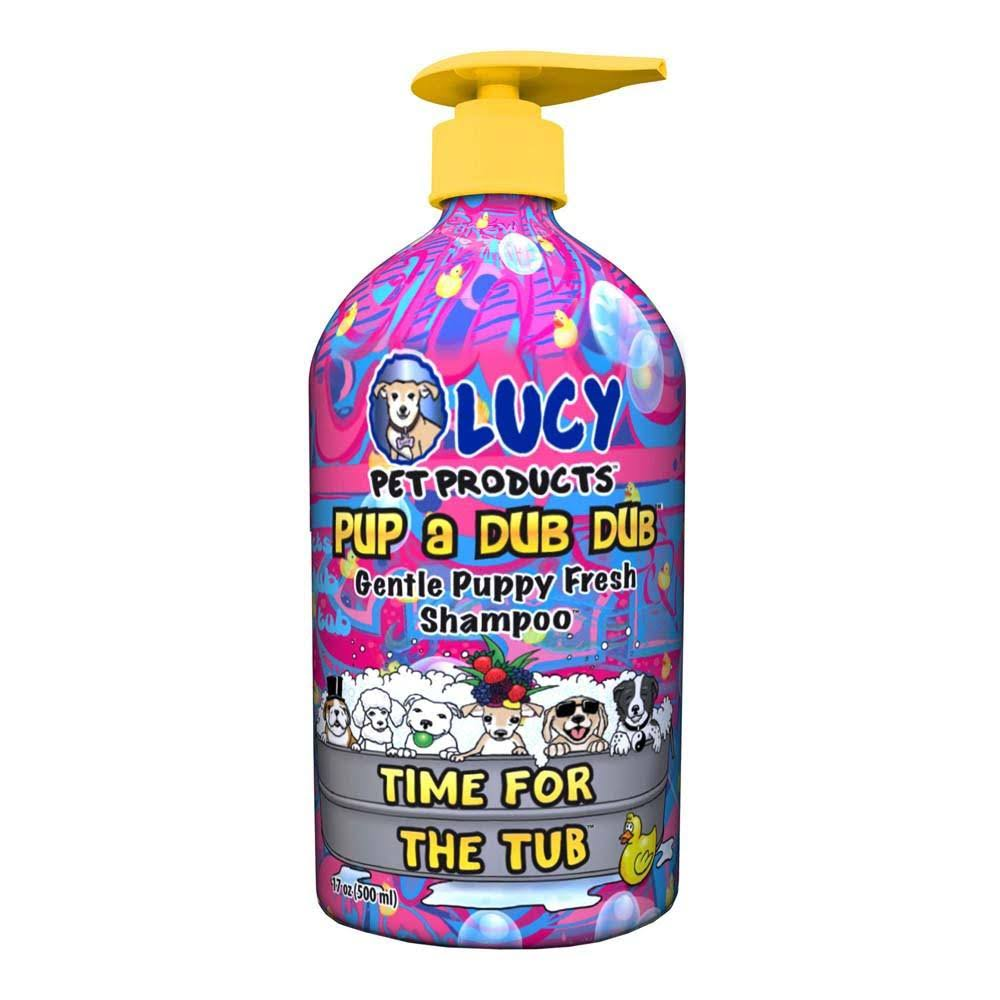 Lucy Pet Pup a Dub Dub Time For the Tubpuppy Shampoo - 17oz
