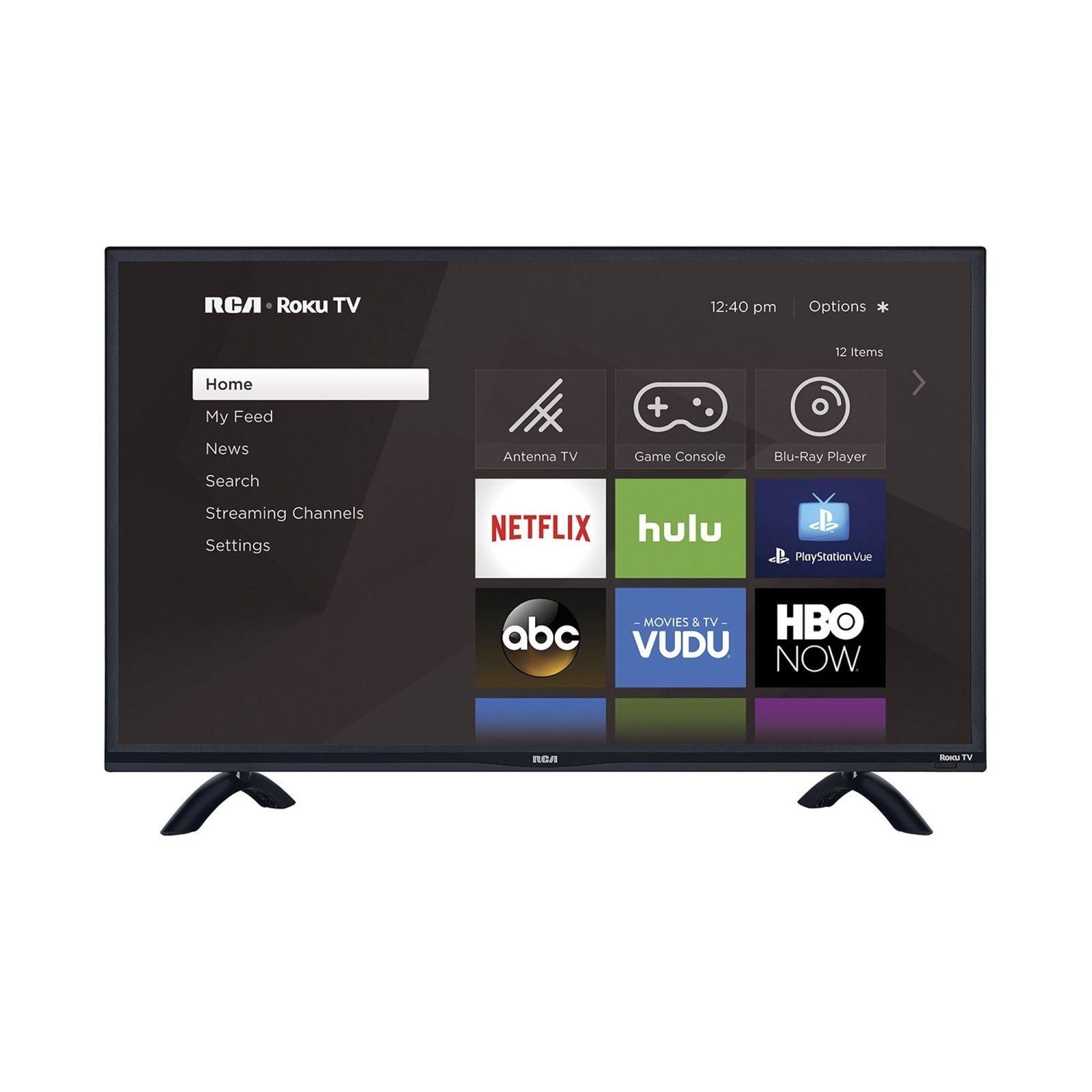 "RCA Roku RTRU5527-W - 55"" LED Smart TV - 4K UltraHD"