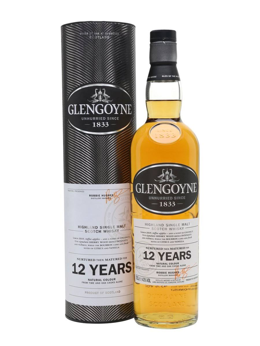 Glengoyne 12-Year Old Single Malt Scotch - 750ml