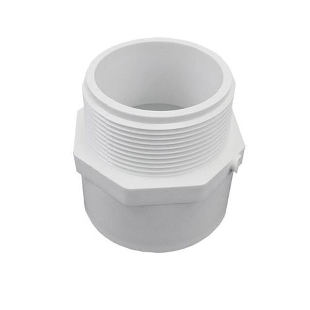 Spears Manufacturing Company Pvc Pipe Adapter - White, 1-1/2""