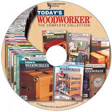 today u0027s woodworker complete collection computer disc from