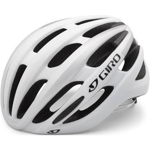 Giro 2017 Foray Road Cycling Helmet - Small, Matte White, Silver