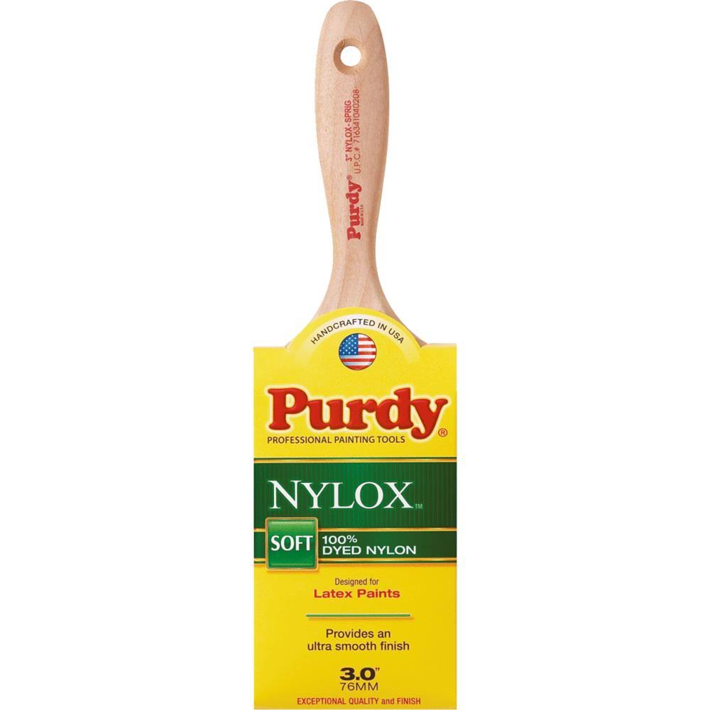Purdy Nylox Series Sprig Flat Trim Paint Brush - 3""