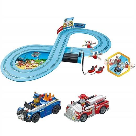 Carrera First Slot Car Set Paw Patrol - on The Track