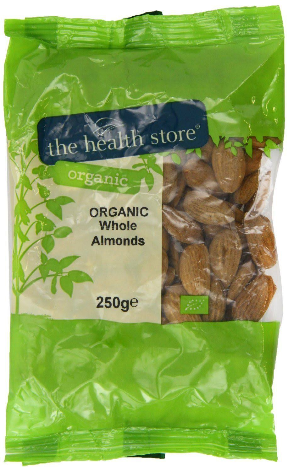 The Health Store Organic Whole Almonds - 250g