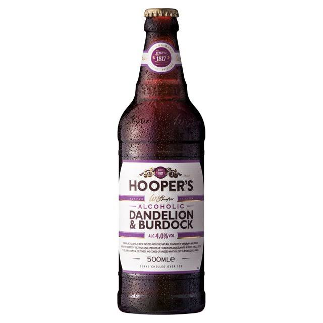 Hooper's Alcoholic Dandelion and Burdock - 500ml