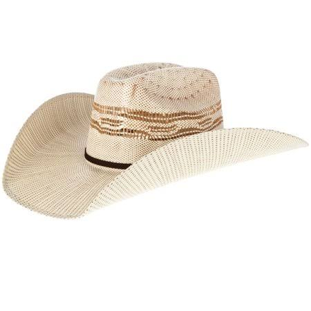 Twister Men's 2 Tone Tan Bangora Maverick Cowboy Hat - Natural/Tan, 7 1/2""