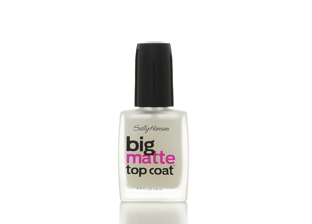 Sally Hansen Big Matte Top Coat - 0.4oz