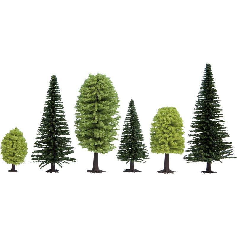 Mixed Forest Tree Set - 50 up to 140mm