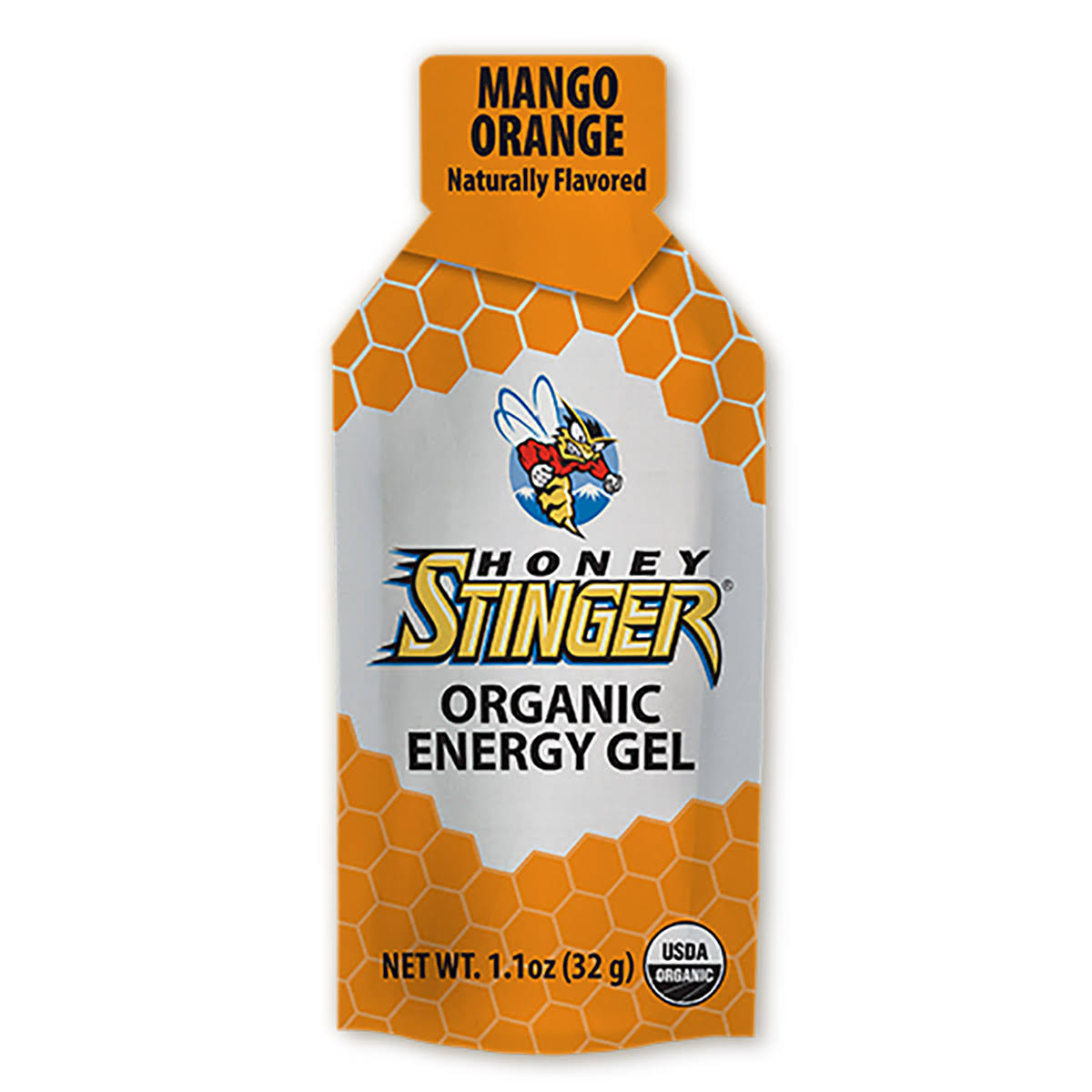Honey Stinger Organic Energy Gel - Mango & Orange, 32g