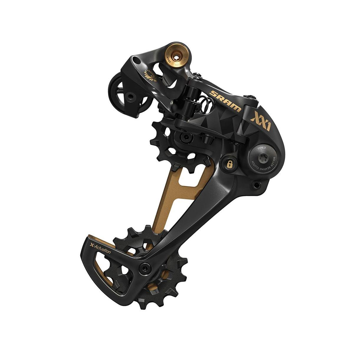 SRAM XX1 Eagle 12-Speed Rear Derailleur - Gold, One Size