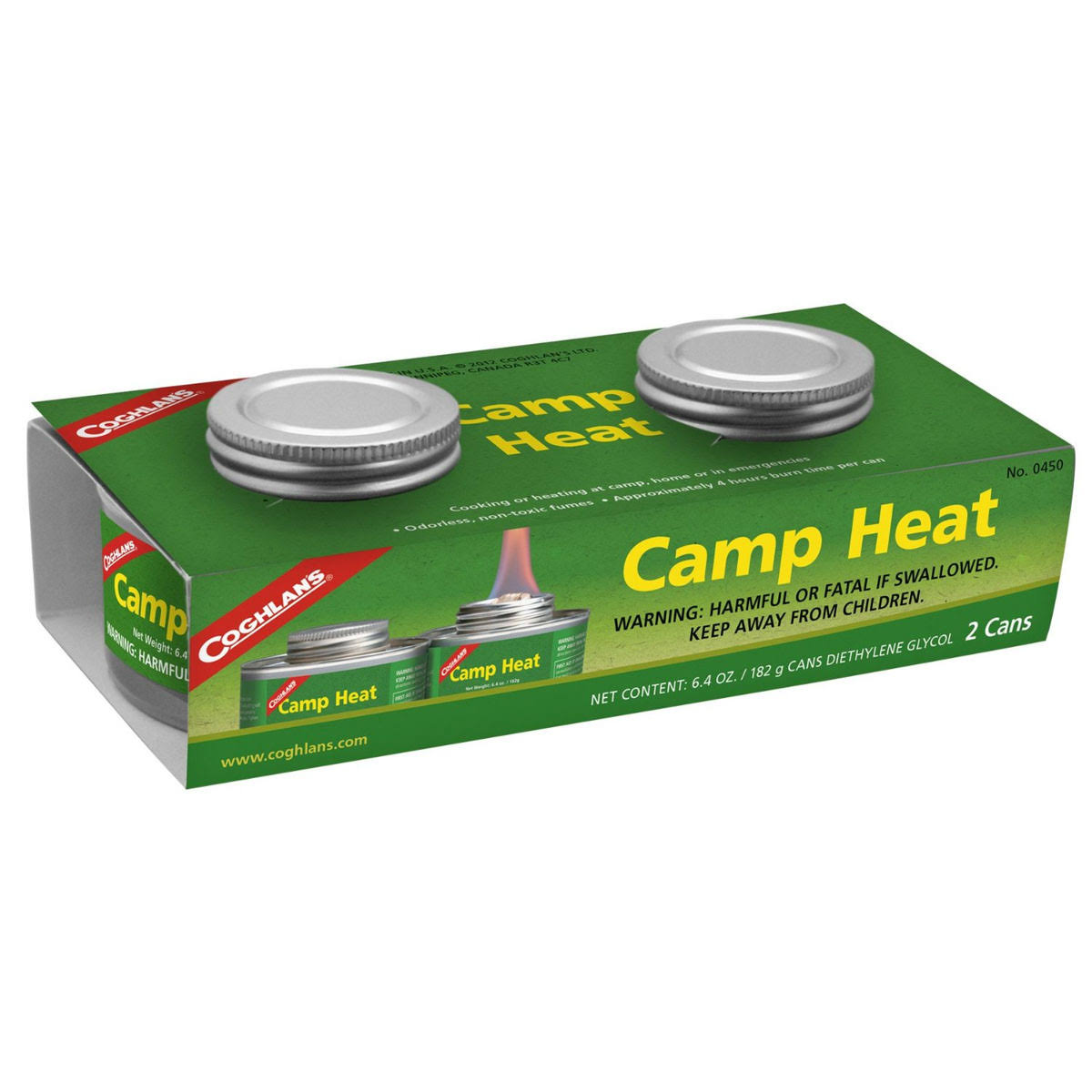 Coghlan's 0450 Camp Heat - 2ct