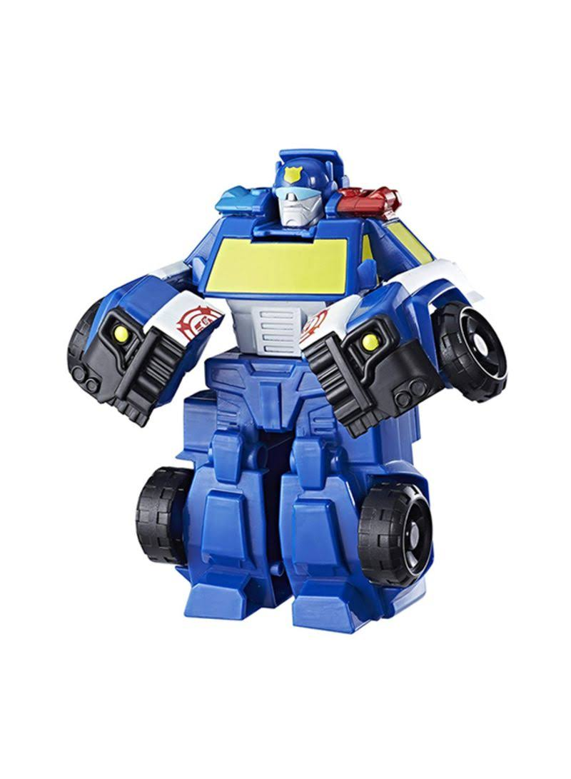 Transformers Playskool Rescue Bots Chase Police Bot Toy Figure - 4.5""
