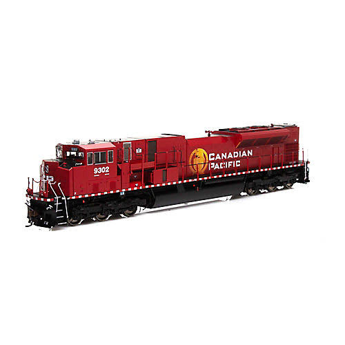 Athearn - HO G2 SD90MAC-H Phase II w/DCC & Sound, CPR #9302 - G27332